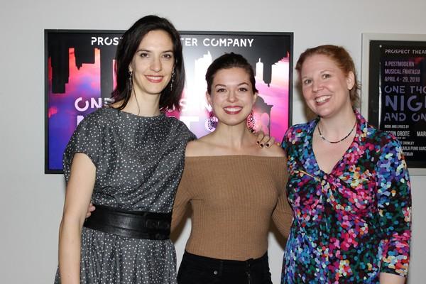 Marisa Michelson, Margo Seibert and Cara Reichel