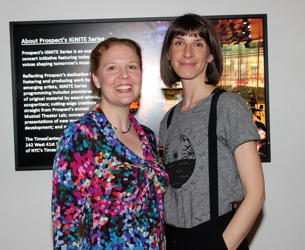 Cara Reichel and Erin Ortman