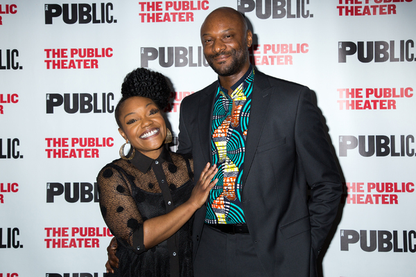 Kenita Miller, Justin Hicks Photo