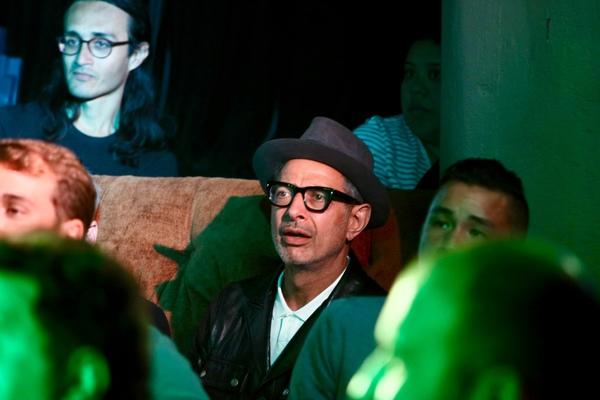 Photo Flash: Jeff Goldblum Visits The Unauthorized Musical Parody of JURASSIC PARK