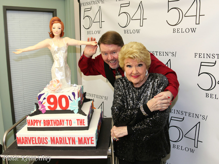 High Res Kevin Alvey, Marilyn Maye
