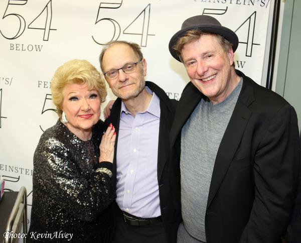Marilyn Maye, David Hyde Pierce, Brian Hargrove