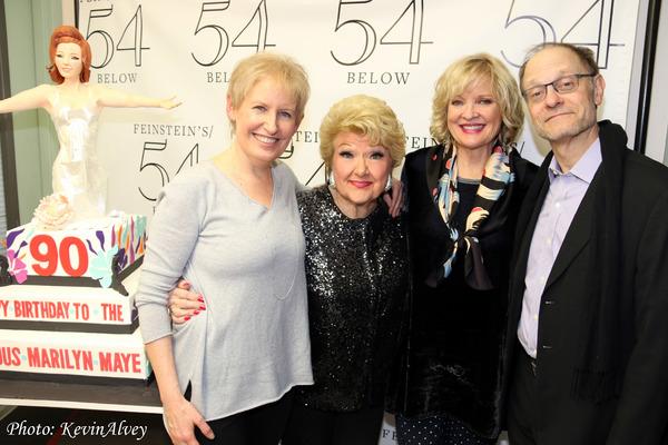 Liz Callaway, Marilyn Maye, Christine Ebersole, David Hyde Pierce