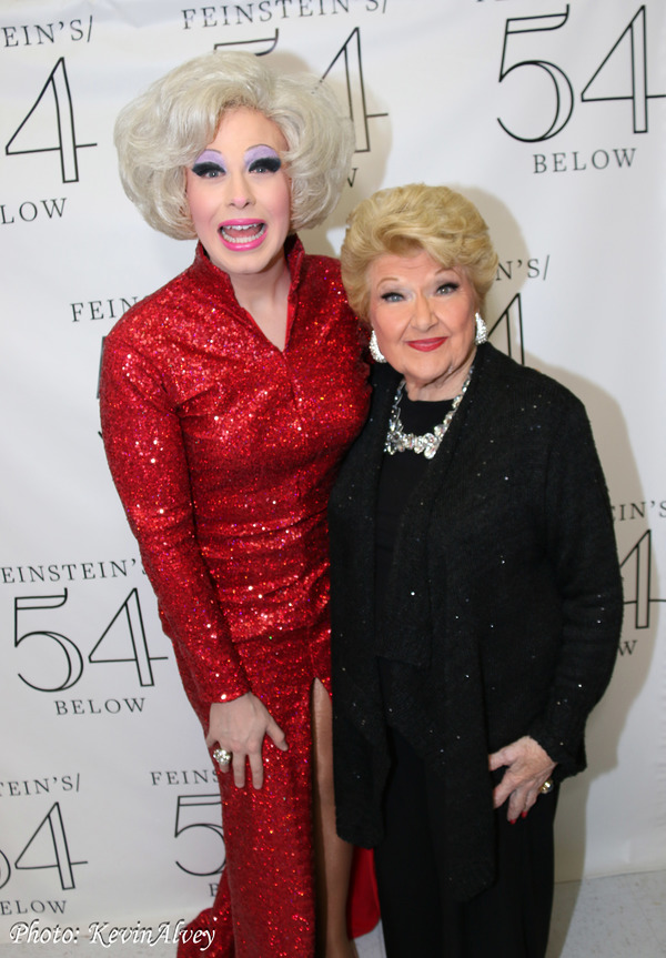 Nicky Ciampoli (as Carol Channing), Marilyn Maye