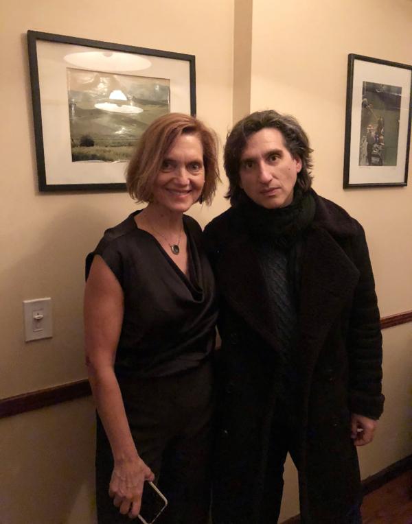 Karen Racanelli and Hershey Felder Photo