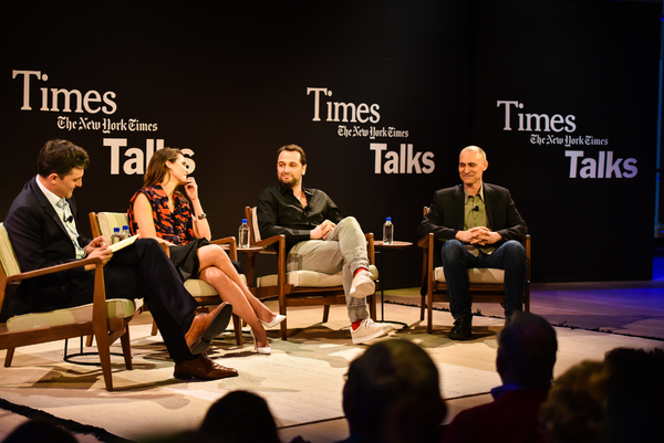 Mark Mazzetti, Keri Russell, Matthew Rhys, Joel Fields Photo