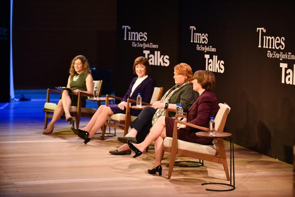 Jennifer Steinhauer, Susan Collins, Heidi Heitkamp