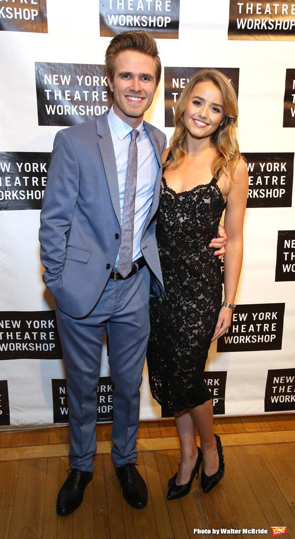 Kyle Riabko and Stephanie McKeon