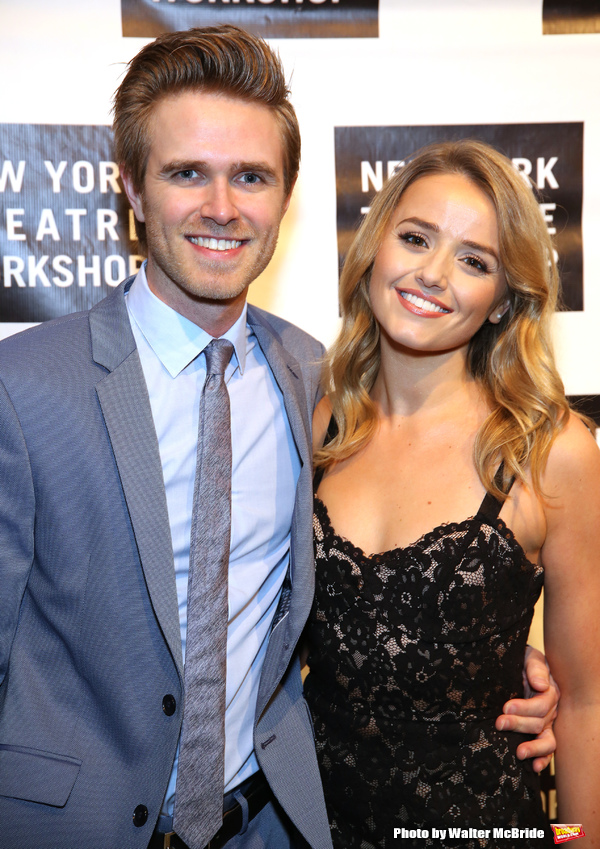 Kyle Riabko and Stephanie McKeon  Photo