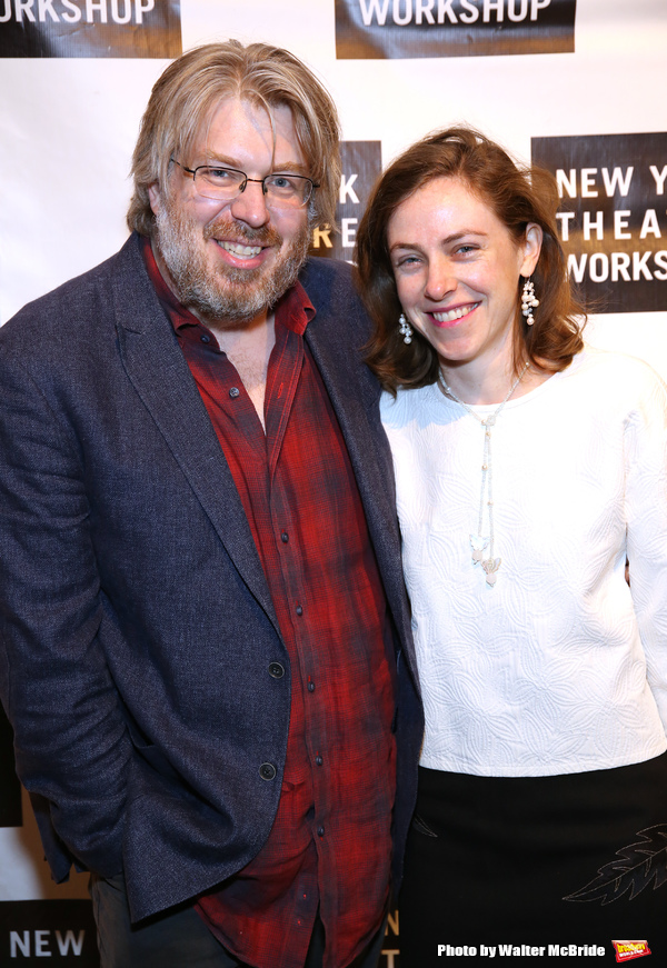 Dave Malloy and Eliza Bent