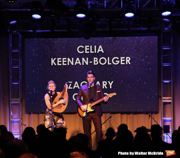 Celia Keenan-Bolger and Zachary Quinto  Photo