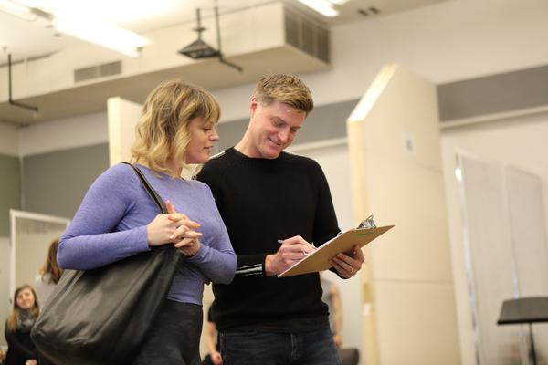 Elizabeth Stanley (Mary Jane) and Sean Allan Krill (Steve)