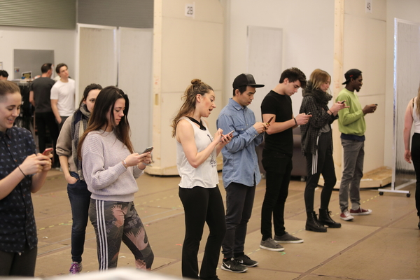 Photo Flash: You Oughta Know... Rehearsals Have Begun for  JAGGED LITTLE PILL at the A.R.T.!
