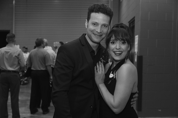 Justin Guarini and Jessica Vosk Photo