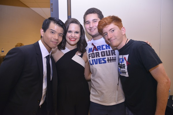 Telly Leung, Yael Silver and MSD Student Activists