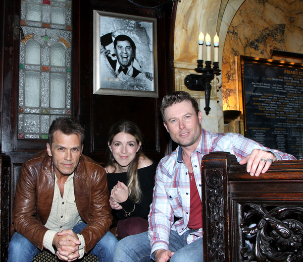 Scott Reeves, Emily Reeves and Jacob Young  Photo