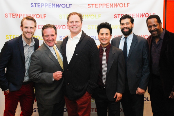 Dan Plehal, Michael Accardo, Rainn Wilson, Whit K. Lee, Andy Nagraj, and James Vincen Photo