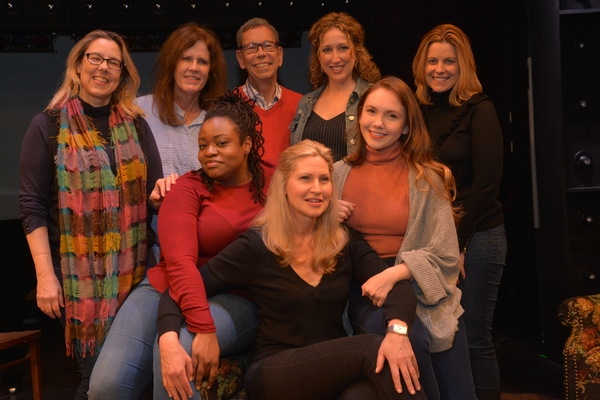 Beth Falcone (Music Director), Janet Hood (Music), Bill Russell, Allyson Kaye Daniel, Luba Mason, Courtney Balan, Amy Anders Corcoran and Celeste Rose