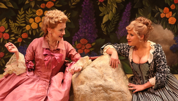 Photo Flash: First Look at The New York Premiere of David Ives' THE METROMANIACS