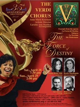 BWW Interview: THE VERDI CHORUS, A Musical Family Related by the Love of Opera