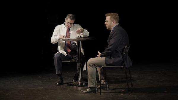 "GAYFEVER â€"" Lou Liberatore (Doctor Rifkin) and Todd Butera (Jonah)"