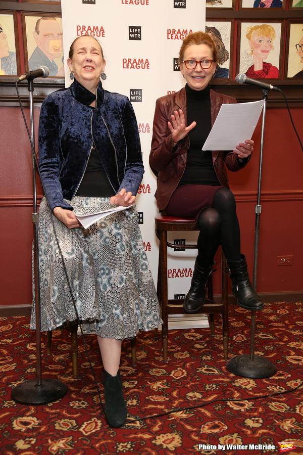 Harriet Harris and Julie White