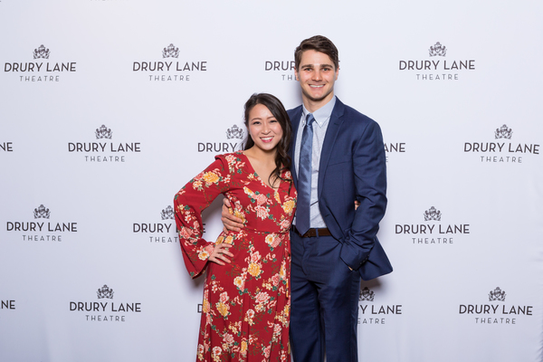 Sarah Lo and Austin Colby