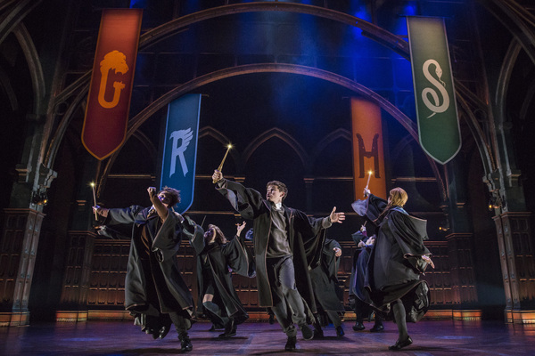 The company of Harry Potter and the Cursed Child Photo Credit Matthew Murphy