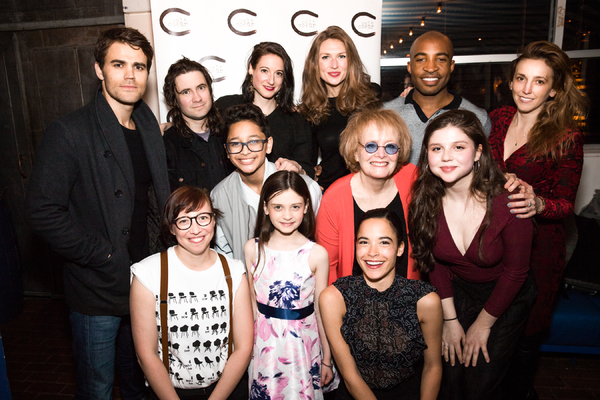 Back Row: Paul Wesley, Matthew Stadelmnn, Renata Friedman, Carolyn Holding, Austin Smith, Adrienne Campbell-Holt. Middle Row: Gregory Diaz IV, Lynne Lipton, Samantha Cutler. Front Row: Amelia Roper, Sami Molly Bray, Julianna Canfield
