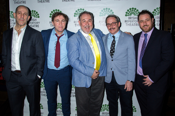 Andy Murray, Tim Ruddy, Colin McPhillamy, Matthew Broderick, Michael Mellamphy Photo