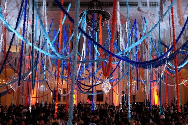 Photo Flash: Swizz Beatz, Mick Rock, and More Celebrate at Brooklyn Museum's Brooklyn Artists Ball