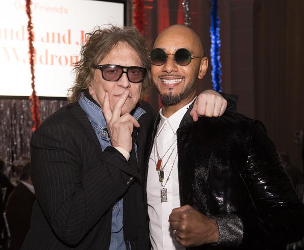 Mick Rock and Swizz Beatz