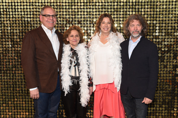 William.Taubman, Ellen Taubman, The Shelby White and Leon Levy Director, Brooklyn Museum Anne Pasternak and artist Mike Starn