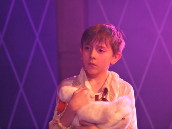 Justin Roth as Theo in Pippin at Rhino Theatre.  Photo