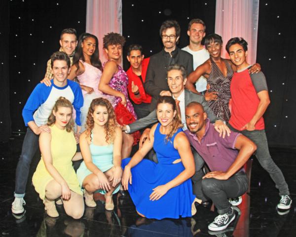 George Chakiris, Choreographer Hector Guerrero and Dancers