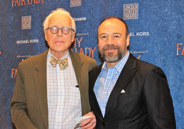 John Guare and Danny Burstein