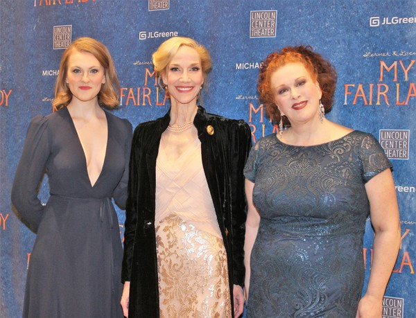Kerstin Anderson, Blair Ross and Liz McCartney