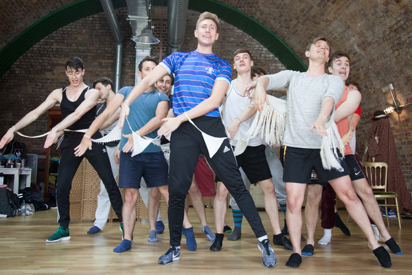 Photo Flash: In Rehearsal with Sasha Regan's All-Male IOLANTHE