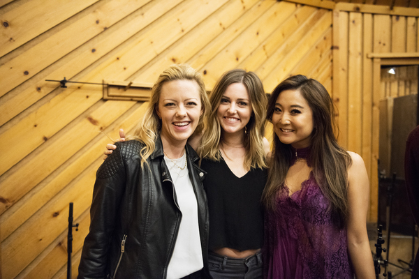 Kate Rockwell, Taylor Louderman, and Ashley Park