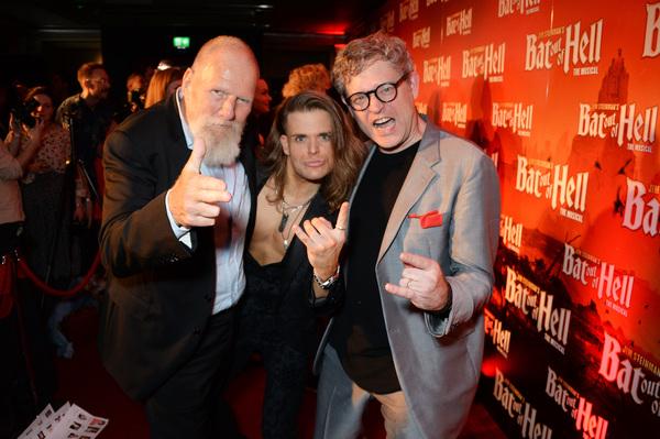 Producer Tony Smith, Giovanni Spano, and director Jay Scheib Photo