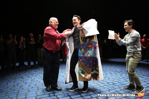 Exclusive Photo Coverage: Matt Wall Receives the Gypsy Robe for MY FAIR LADY!