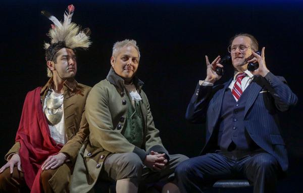 Richard Gallegos, Curt Bonnem and Russell Edge
