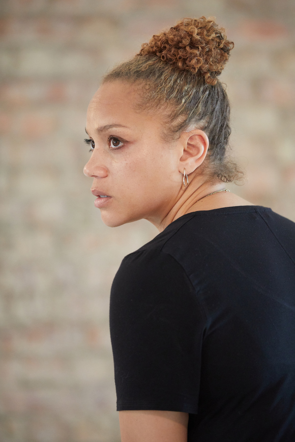Photo Flash: In Rehearsal with Park Theatre's BUILDING THE WALL