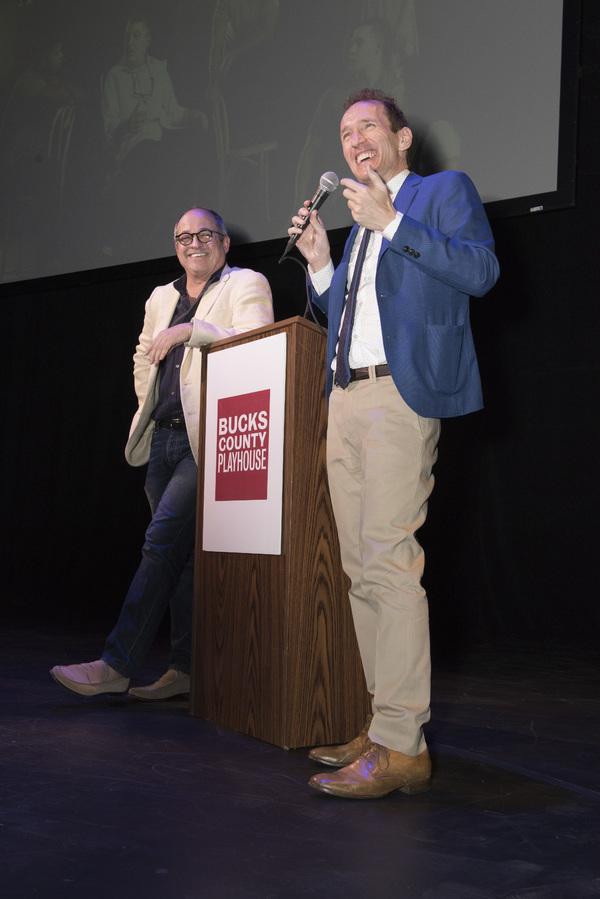 Flody Suarez and Jeffrey Seller