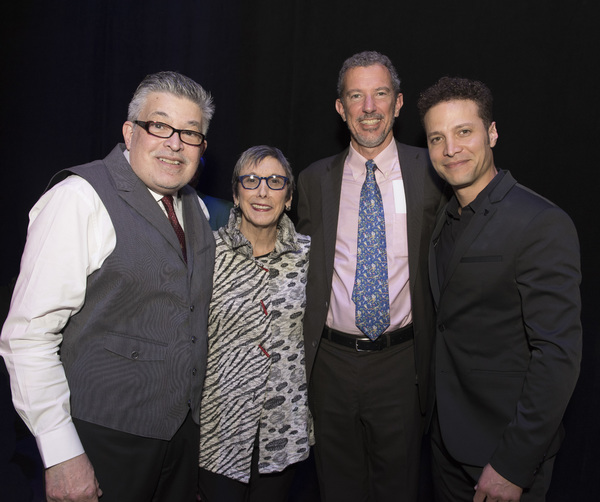 Lou Volpe, Robyn Goodman, Alexander Fraser and Justin Guarini