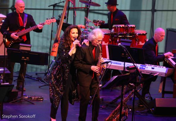 Lynda Carter & Blue Lou Marini Photo