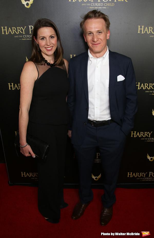 Deborah Crowe and Jamie Parker