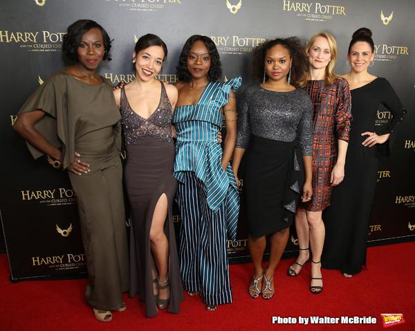 Shrine Babb, Alanna Saunders, Adeola Role, Malika Samuel, Angela Reed and Katie Kreisler