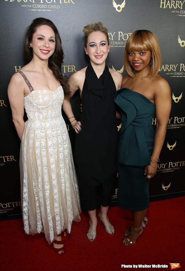 Lauren Nicole Cipoletti, Jessie Fisher and Susan Heyward