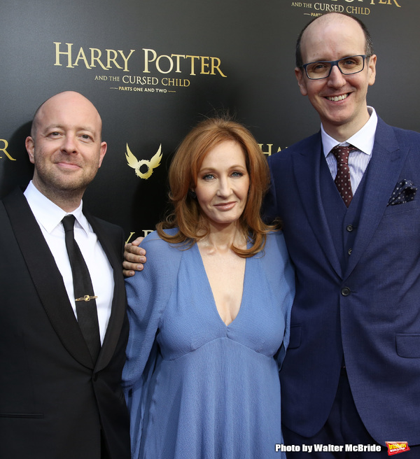 John Tiffany, J.K. Rowling and Jack Thorne